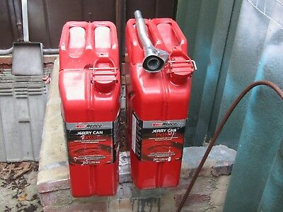 repco steel 20 ltr fuel cans