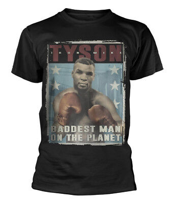Mike Tyson 'Vintage Poster' T-Shirt - NEW & OFFICIAL!