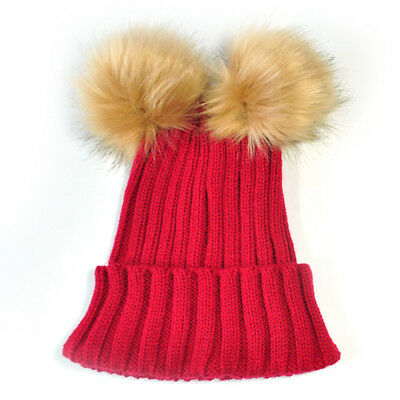 Baby Toddler Infants Knit Hat Beanie Cap Headgear Comfortable One Size