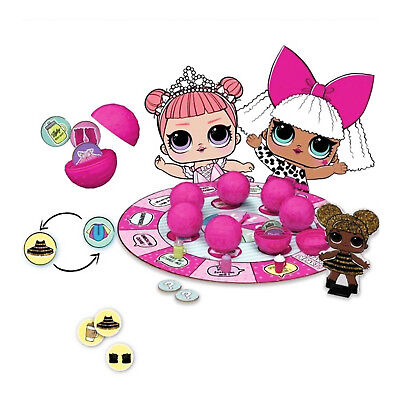 LOL Surprise Doll Board Game Kids Girls Party 7 Layers Of Fun Collectible Unbox