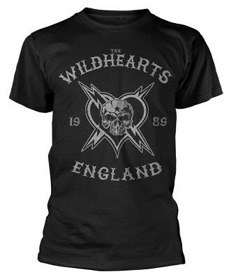 The Wildhearts 'England 1989' T-Shirt - NEW & OFFICIAL!