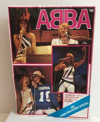Abba Magazine Special poster 1979