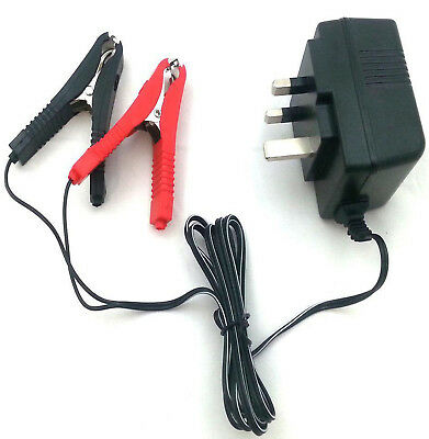 12V Trickle Battery Charger Car Van Motorhome Caravan Motorbike Quad