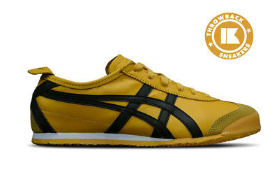 Asics ONITSUKA TIGER MEXICO '66 Yellow Black Kill Bill ref/ DL408 0490