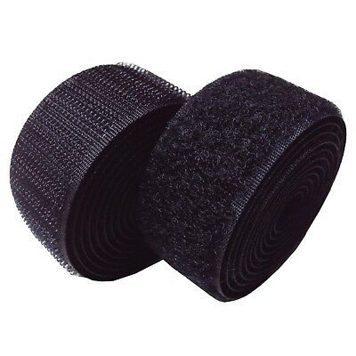 20MM 25MM BLACK HOOK LOOP OR BOTH ALFATEX® BRAND BY Velcro COMPANIES SEW ON