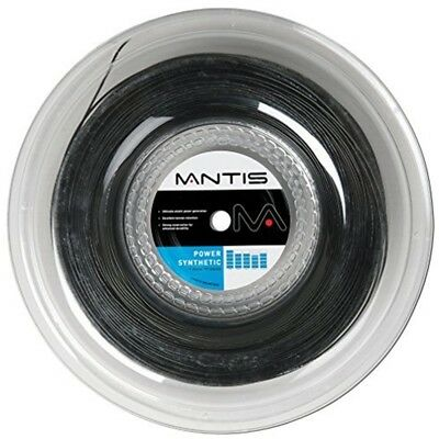 Mantis Power Synthetic Tennis String - 200m Reel, Color- Amber