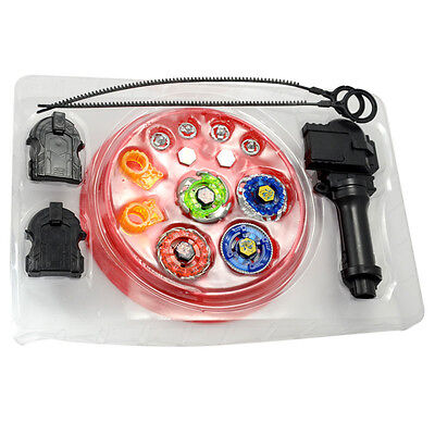 Seltene Beyblade 4D Metal Master Rapidity Arena mit Launcher KAMPFKREISEL Fusion