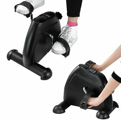 Portable Mini Exercise Bike Exerciser Resistance Cycle Desk Home Seat Gym Pedal