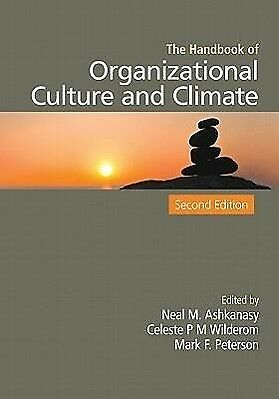 The Handbook of Organizational Culture and Climate - Neal Ashkanasy DHL-Versand