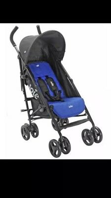 JOIE BLUE NITRO STROLLER/BUGGY With Raincover