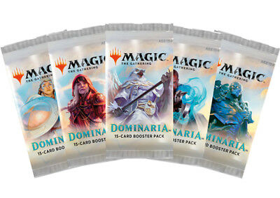 *Magic MtG - DOMINARIA - 10x Booster - English / OVP / Sealed