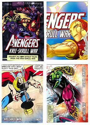 AVENGERS KREE-SKRULL WAR (2011)--Complete Base Set+ 3 Insert Sets+Checklist^