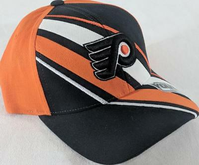 d3d5ae6e910 LZ Reebok Youth One Size OSFA Philadelphia Flyers NHL Baseball Hat Cap NEW  E98