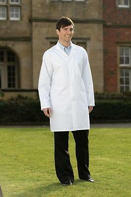 White Hygiene Food Industry warehouse Lab Laboratory Doctors Medical coat 46""