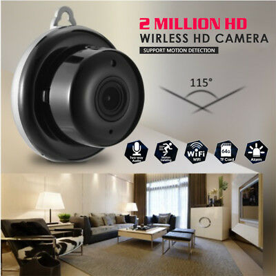 960P Wireless WiFi Smart Mini IP Camera Night Vision Home CCTV Security Monitor