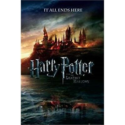 Harry Potter The Deathly Hallows Movie Film Poster - New End Era 61 x 91cm