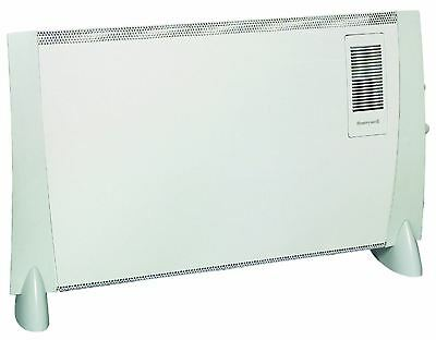 Honeywell Electric Turbo Fan Convector Heater 2kW Radiator Thermostat HZ-823FE1