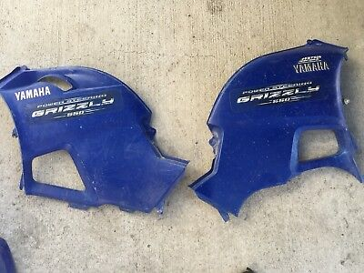 Yamaha Grizzly 550 700 Side Covers Tank Panel Shroud Engine Covers Left & Right