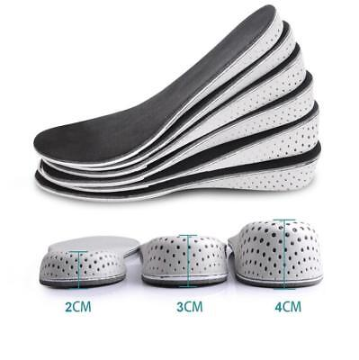 Hot Arch Support Shoe Insoles Heel insert Increase Taller Height Lift 2-4CM US