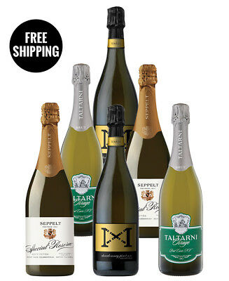 Halliday Bubbles Mix (6 Bottles)