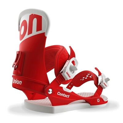 Union Contact Bindings in Red 2018 Mens