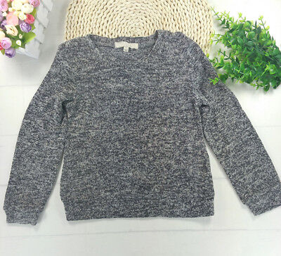 boys girls Long Sleeve Pullover Sweater Shirt Loose Blouse Tops Size 2T-5T
