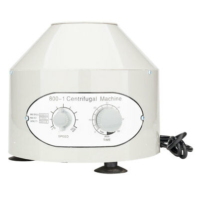 New Electric Centrifuge Machine Lab Medical Practice 4000rpm W/ 6x 20ml Rotor