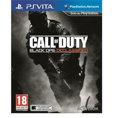 Call of Duty Black Ops Declassified PS Vita PlayStaion NEW SEALED