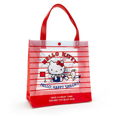 fec45b4c600f Hello Kitty PVC Tote Bag Sanrio Japan Summer Swim