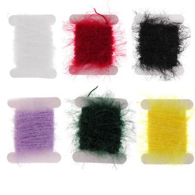 Fishing Tinsel Chenille Crystal Flash Line Fly Tying Streamer Flies Material