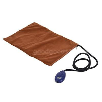 Electric Heating Pad Mat for Warming Dog Cat Pet Bed with Chew Resistant T0M0
