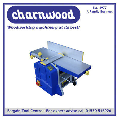 Charnwood W588 8'' x 5'' Bench Top Woodworking Planer Thicknesser