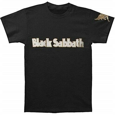 XXL Black Men's Black Sabbath Logo & Daemon T-shirt - Mens Tshirt