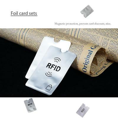 Credit Card Protector Sleeve Wallet Card RFID Blocking Contactless Debit Hot A+