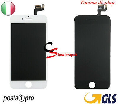 Touch 3D Screen Vetro Lcd Display Retina Schermo Frame Per Apple Iphone 6S Tianm