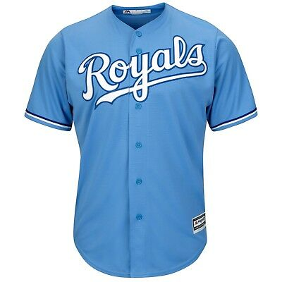 Kansas City Royals Majestic Athletic Cool Base Road Baseball Jersey