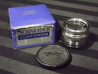VTG Schneider Optik Kreuznach Componon 1:4/50mm enlarging lens in Case with Caps