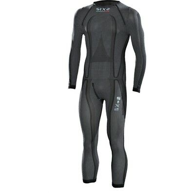 SixS STXL SuperLight Mens One Piece Under Suit Black Carbon