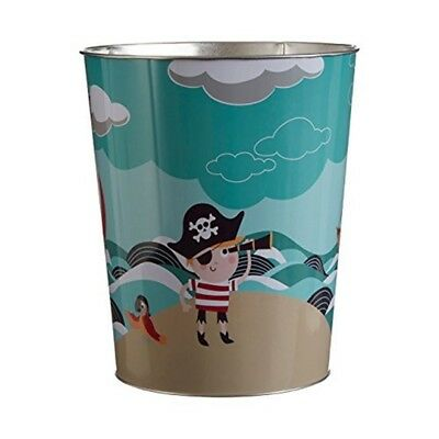 Premier By Prime Furnishing Pirate Waste Bin Keep Children's Bedroom Tidy -