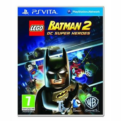 lego batman 2 dc super heroes sony ps vita used no manual 10 79 rh picclick co uk lego batman 2 instruction manual lego batman 2 wii manual