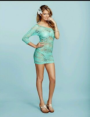 4f863650e1d6b Brand New $148 Beach Bunny Bikini Knitted Up Large Cover Up Dress All Sizes