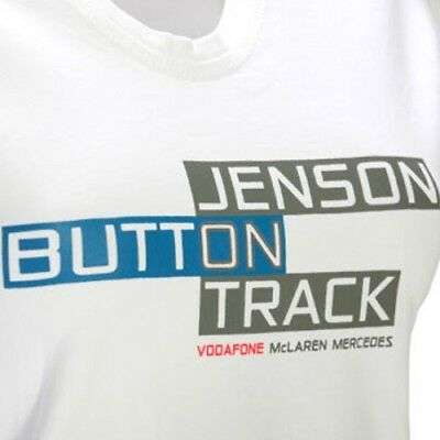 T-Shirt Damen Button Track Formula Formel One 1 McLaren Mercedes F1 Damen S DE