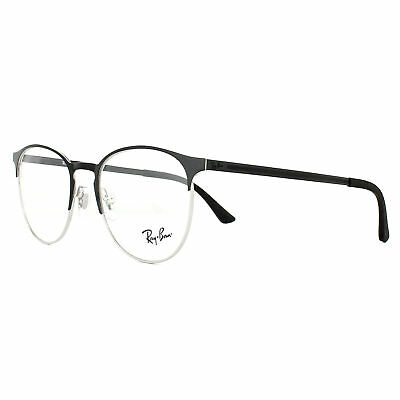 f42ca36e0c RAY-BAN GLASSES FRAMES 6375 2861 Silver on Top Black 51mm -  108.00 ...
