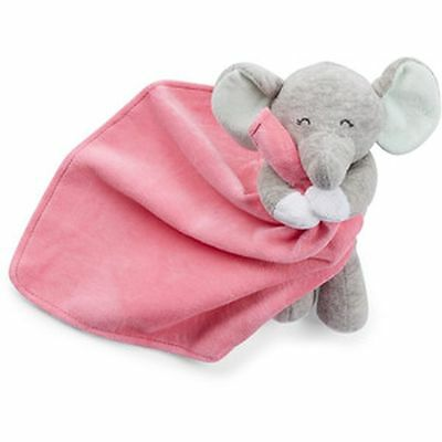 New Carter's Snuggle Buddy Elephant Pink Security Blanket Soft Cute NWT Girls