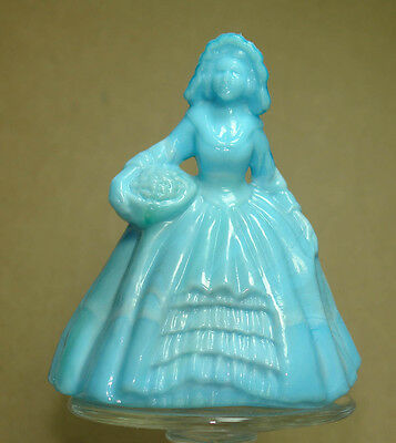 Boyd Glass Colonial Doll Alpine Blue
