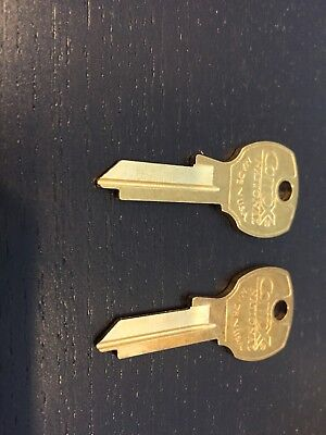 2 COMPX NATIONAL KEY BLANKS D4300 FOR MAILBOX LOCK 4C STYLE C8710 - C8735 Locks