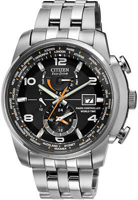 Men's Citizen Eco-Drive World Time A-T Atomic Watch AT9010-52E
