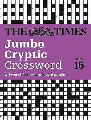 The Times Jumbo Cryptic Crossword Book 16, The Times Mind Games