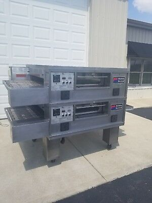 "Middleby Marshall PS555 Double Deck Conveyor Pizza Oven ***Belt Width 32""***"