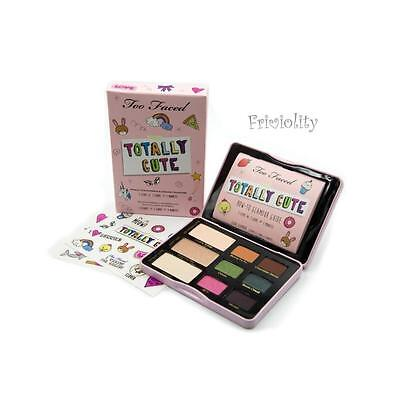 NIB TOO FACED Totally Cute Sticker Eye Shadow Collection Palette 100% Authentic!